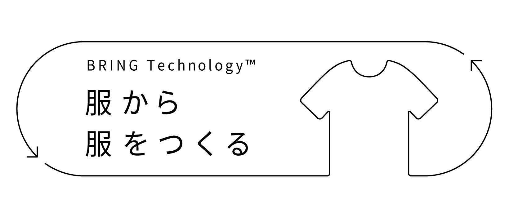 BRING Technology™ 服から服をつくる
