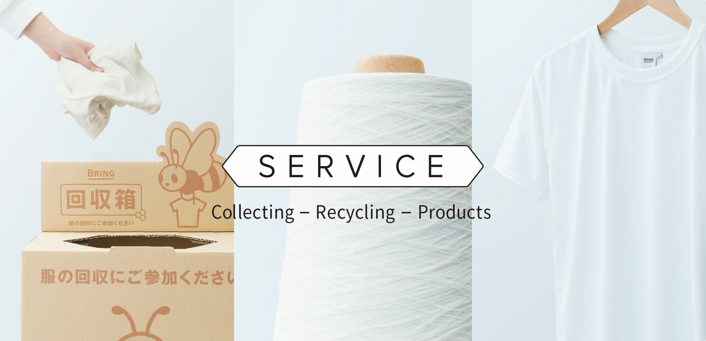 SERVICE / Collecting—Recycling—Products